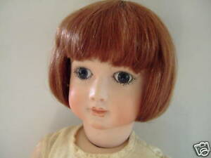 Wig Luc T9 (32cm) 100% Hair Natural For Antique Doll -doll Wig