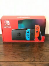 Brand New Nintendo Switch Console 32GB Red Blue Neon Joy-Cons V2 - SHIPS ASAP!