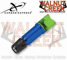 Carbon Express LaunchPad Lighted Crossbow Moon Nock - Green Size A 1-Pack #58072