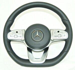 OEM Mercedes Benz C118 W222 W213 W205 X253 C238 W463 Sport Steering Wheel A0004604302