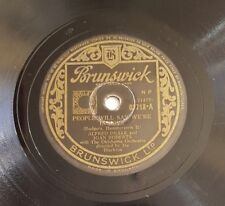 Original UK 78rpm, People Will Say We're In Love by Alfred Drake & Joan Roberts