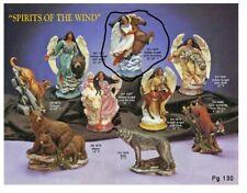 Doc Holliday 1678 Native American Angel Stallion Horse Vintage Ceramic Mold