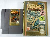 P.O.W. Prisoner Of War Boxed Nintendo NES PAL