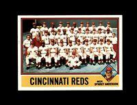 1976 Topps Baseball #104 Cincinnati Reds team (Pete Rose Johnny Bench) NM-MT