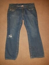 True Religion Billy Super T Jeans Mens Size 40 x 34 Flap Pockets Authentic