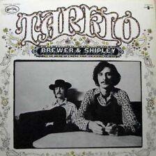 BREWER & SHIPLEY Tarkio LP Textured Cover - Jerry Garcia Folk Psych  SirH70