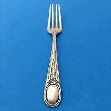 Threaded aka Plain Thread by Schulz /& Fischer Sterling Silver Dinner Fork 7 38