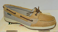 Eastland Sunrise Women's Tan Leather Boat Shoe  3562  NEW  Sz 5.5-11  Med & Wide