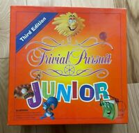 1994 Trivial Pursuit Junior Board Game Third Edition Parker Brothers Complete