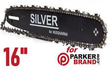 """16"""" Guide Bar & Chain for Parker Brand chainsaw PCS-5200 PCS-5800 PCS-4500"""