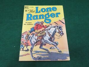 Dell comics The Lone Ranger #27 VG+ dated 1950