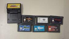 7x Gameboy Advance Spiele