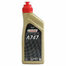 Castrol Power 1 A747 Semi-Synthetic Castor Oil Blend 2T 2 stroke oil 1 Litre 1L
