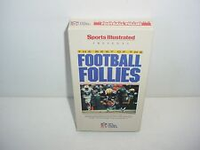 Sports Illustrated The Best of the Football Follies NFL VHS Video Tape Movie