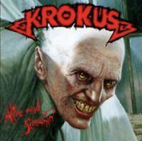 KROKUS ALIVE AND SCREAMIN LP EX COPY