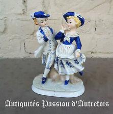 B2016169 - Couple de figurines en porcelaine - Très bon état