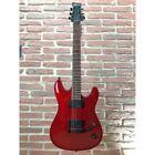 FRAMUS diablo Progressive E-Guitar IN Burgundy Red Stain, Black Hardware for sale