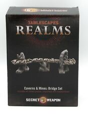 Tablescapes Realms SWBS Bridge Set (Caverns & Mines) Secret Weapon Terrain NIB