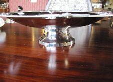 Schale 32x32 cm versilbert silberfarbig Obstschale Gebäckschale Konfektschale