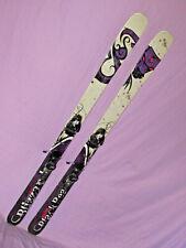Blizzard Black Pearl 88 women's skis 166cm w/ Rocker! with Salomon Z10 bindings~