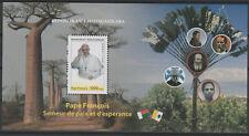 Madagascar 2018 Pape François Pope Francis Papst Franziskus Souvenir sheet RARE