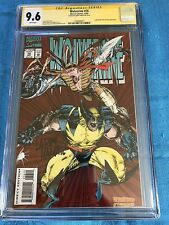 Wolverine #76 - Marvel - CGC SS 9.6 NM+ - Signed by Larry Hama