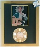 GARTH BROOKS SIGNED PHOTO BECKETT COA GOLD RECORD COUNTRY MUSIC SINGER AUTOGRAPH