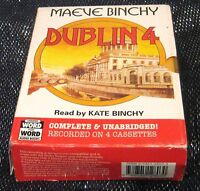 Dublin 4 by Maeve Binchy read by Kate Binchy Audio Cassettes 5hr 17mins