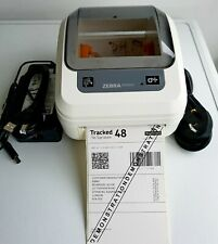 Zebra GK420d  Direct Thermal Network Label Printer with  PSU and USB Cable 356