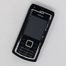 Nokia N72 3 g-Base Téléphone Portable-Noir-état de fonctionnement-Débloqué
