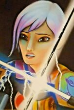 ACEO Original ~ STAR WARS ~ The Clone Wars ~ Sabine Wren