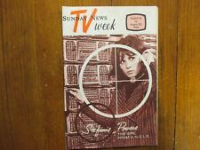 August 14-1966 Lancaster Pa TV Week Mag(THE GIRL FROM U.N.C.L.E./STEFANIE POWERS