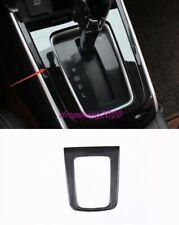 Black Titanium Interior Gear Shift Frame Cover Trim For Nissan Sentra 2016-2019