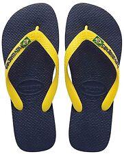 Ciabatte Infradito Unisex Havaianas 4110850 3587 Brasil Logo Marine/yellow 39-40 Non applicabile