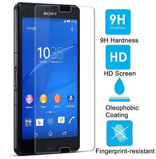 GENUINE TEMPERED TEMPER GLASS SCREEN PROTECTOR FOR SONY XPERIA Z3 COMPACT MINI