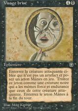 MTG Magic - Terres Natales -  Visage brisé -  Rare VF