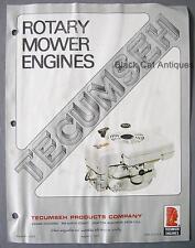 1977 Tecumseh Engines Brochure TVS 75, 90, 105, Kleen-Aire II, LAV30, 35, 40