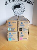 waste toner box Konica Minolta Toner Set four A33K330 A33K230 A33K430 A33K130