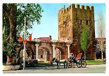 Turkey Postcard Cennet Sehir Antalya Hadrian's Portal Paradise City Horse Buggy