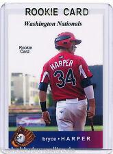 /5~LP~RC~2010 BRYCE HARPER_INC_ROOKIE CARD~10~MVP~ROY~ALL-STAR~AS~WASHINGTON~BH6