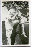Old Baseball Photo Postcard Rollie Naylor
