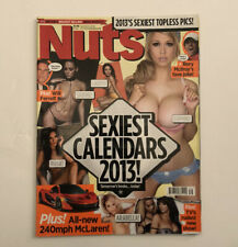 NUTS MAGAZINE   OCTOBER 2013   SEXIEST CALENDERS 2013   SOPHIE READE   RARE