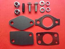 MITSUBISHI 4M41 3.2 ENGINE - x2 BOLT EGR BLANKING PLATE KIT c/w GASKETS SHOGUN