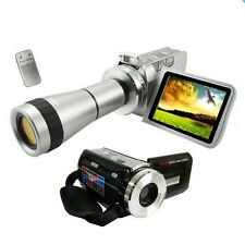Camescope Numérique 720P HD ZOOM 32X Photo 12 Méga Pixels Flash USB AVI CARTE SD