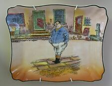 "Rare Royal Doulton Dickens Series Ware tray ""Fat Boy"" D 6327"