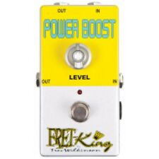 Fret King FKPB Power Boost Guitar Pedal / Stomp Box by Trev Wilkinson