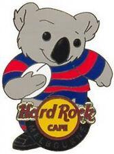 Hard Rock Cafe MELBOURNE 2006 Sports Series TEDDY BEAR PIN Football Koala #34137