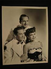 1946 Ann Miller The Thrill Of Brazil VINTAGE Movie PHOTO 634S