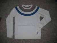 NWT $84.00 White HARVE BENARD Sport White Shirt/Top Petite PS Crew Neck Small
