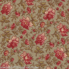 MODA Fabric ~ VIN DU JOUR ~ by 3 Sister's (44024 15) Stone - by the 1/2 yard